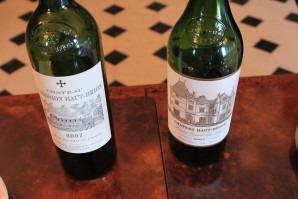 Deux vins d'exception